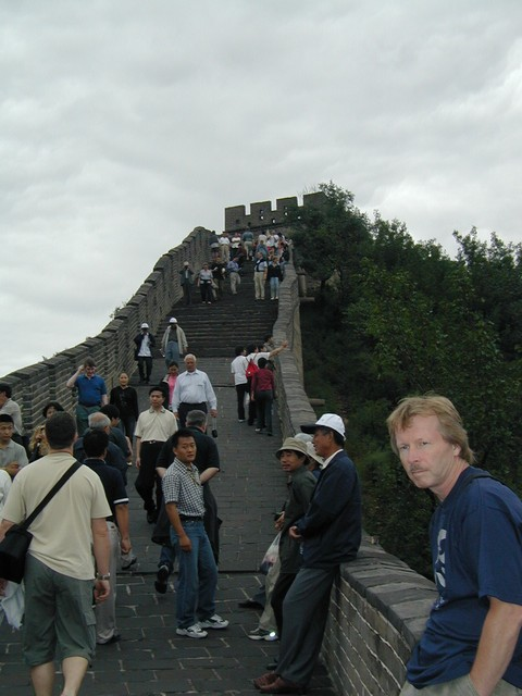 Badaling, the portion we visited, is by far the most popular part of the Great Wall