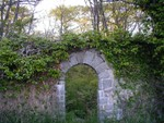 arch along the path