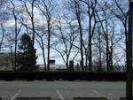 parking lot at Hammond Castle