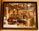 Hammond watching his pipe organ being manufactured