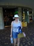Corrine ready for the beach