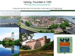 Vyborg - founded in 1293
