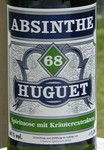 Absinthe Huguet label