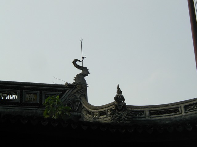Bend in roof top detail