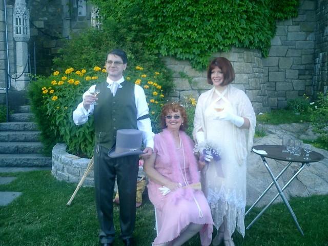 Joe - Susan - Ren toasting