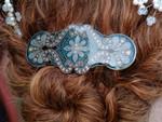 back of Jennifer Nowlin's hair