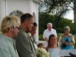 crew during ceremony
