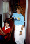 Benedicte and Ren - July 1985