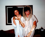 Olivia and Jen in 1986