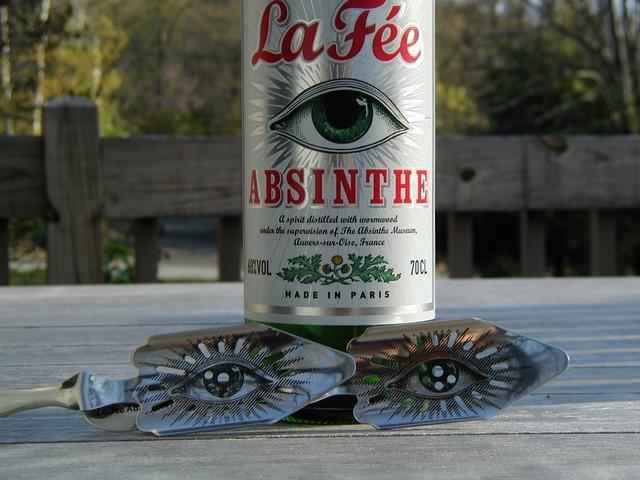 Absinthe eyes