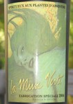 La Muse Verte - label close-up