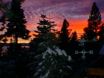 Highlight for Album: Lake Tahoe sunsets