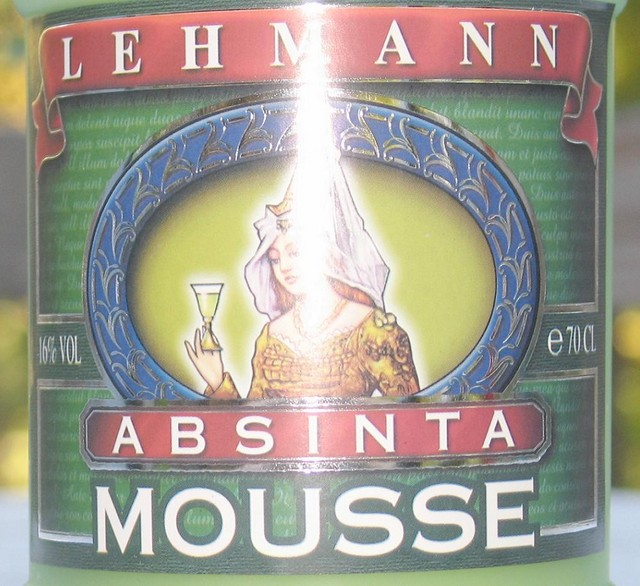 Lehmann's Absinta Mousse label