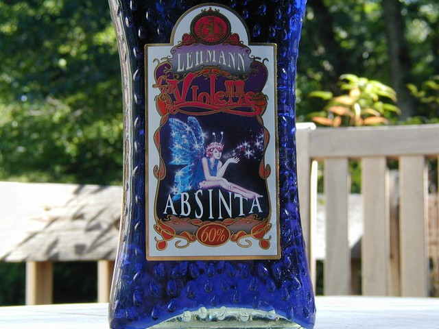 Lehmann Violette Absintha label