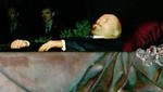Lenin's embalmed body