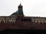 behind Lenin's Tomb