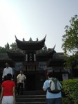 Approaching the Longevity Temple, constructed in 1178