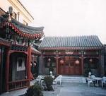 LuSong Yuan Hotel courtyard