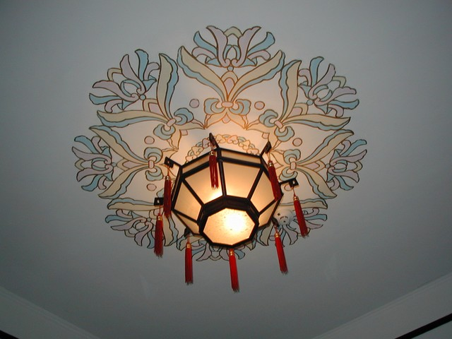 Great ceiling lamp detail