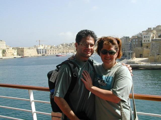 Joe and Ren at Grand Harbour