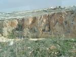 Maltese mountain side