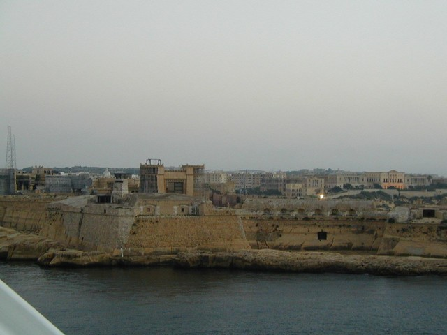New construction at Grand Harbour Malta
