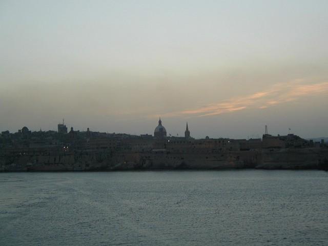 Sun setting on Harbour