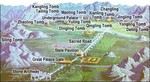 Ming Tombs valley map