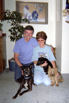 Jim & Connie with the animal kids