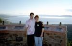 Joe and Ren the weekend he met her Dad in 2000