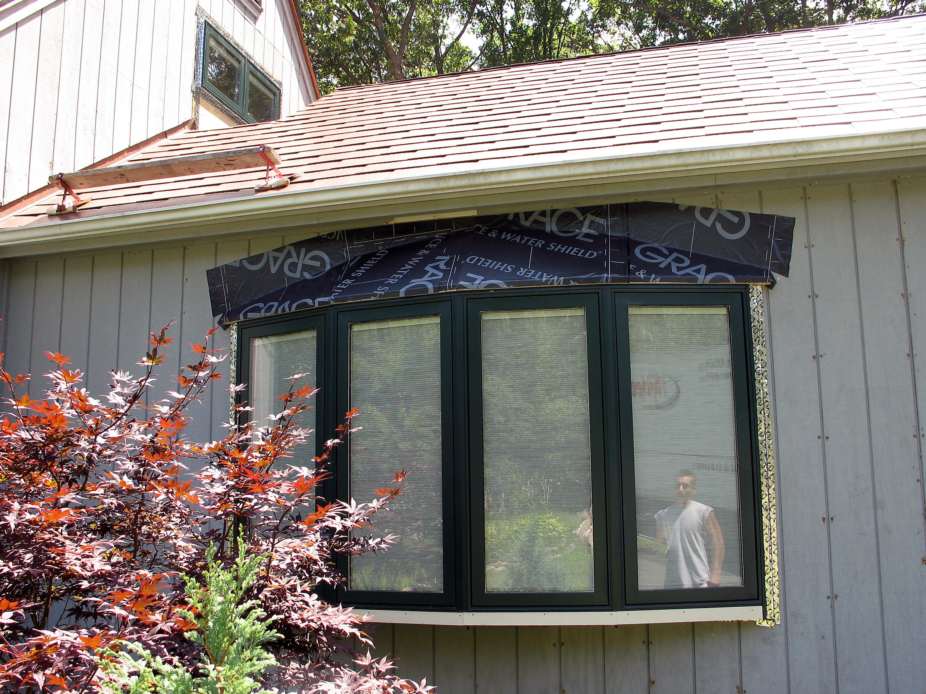 Pella Bow Windows : Saki s world pella bow window in media room