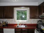 kitchen - shade open