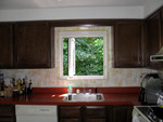kitchen - window fully extended