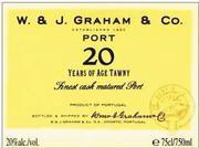 Graham 20 yr tawny