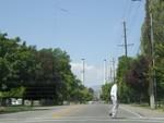 Mormon crossing in Provo