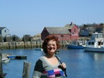 Happy Mom in Rockport