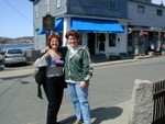 Susan and Ren in Rockport