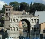 1810 Arch of Janus in front of S. Giorgio in Velabro