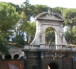 Arch near Palentine Hill and Farnese Gardens