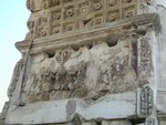 Arch of Titus Sacking of Jerusalem
