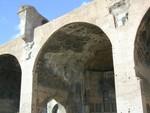 Basilica of Constantine - under arch