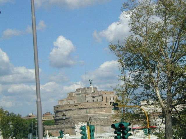 Castel Sant' Angelo - Hadrians's Mausoleum
