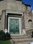 Doors of Temple of Romulus