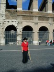 Mom at the Colosseo full size
