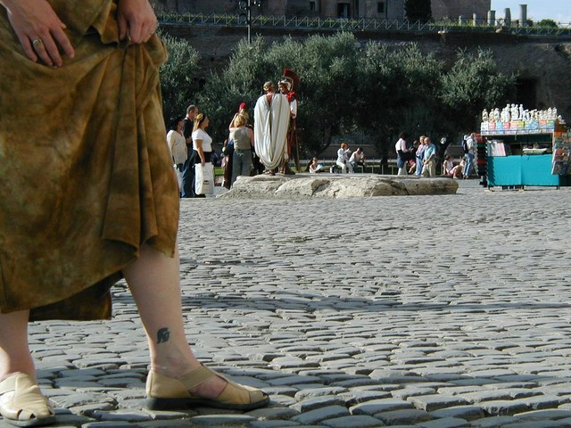 Ren is a Trojan in Rome