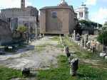 Ruins of Basilica Aemilia