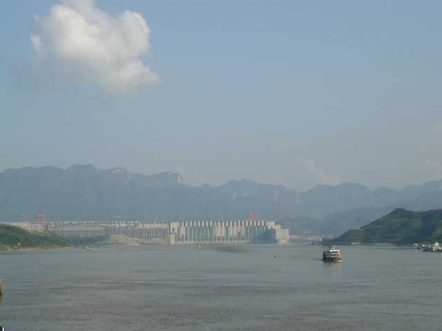 The Great Dam looms large on the Yangtze