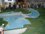 Great Dam Project model at the tourist info site