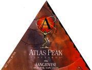 Atlas Peak Sangiovese