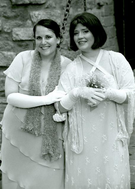 Sarah and Ren at the drawbridge